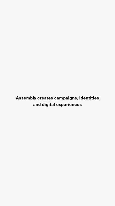 Assembly mobile website