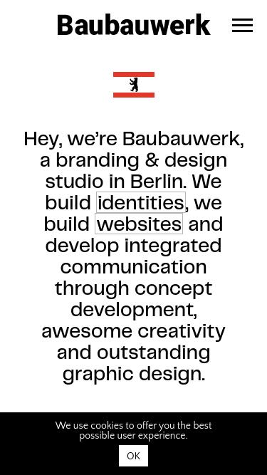 Baubauwerk mobile website