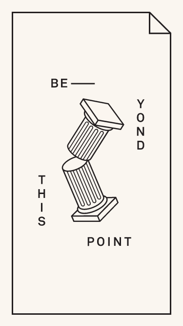 Beyond this point    Visit minimal.gallery, follow on Twitter or receive the weekly/monthly round up mobile website