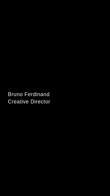 Bruno Ferdinand mobile website
