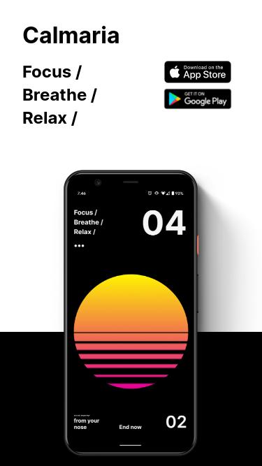 Calmaria mobile website