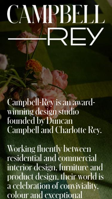 Campbell–Rey mobile website