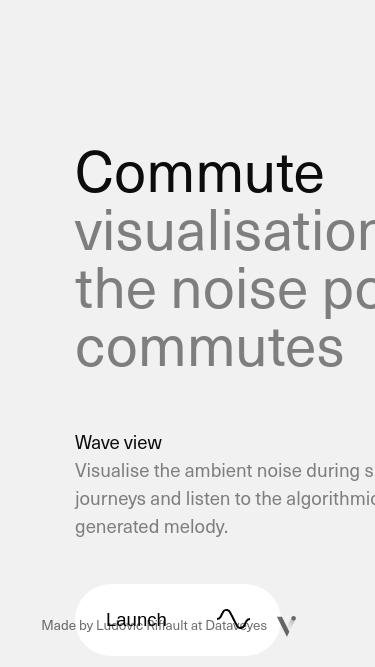 Commute mobile website