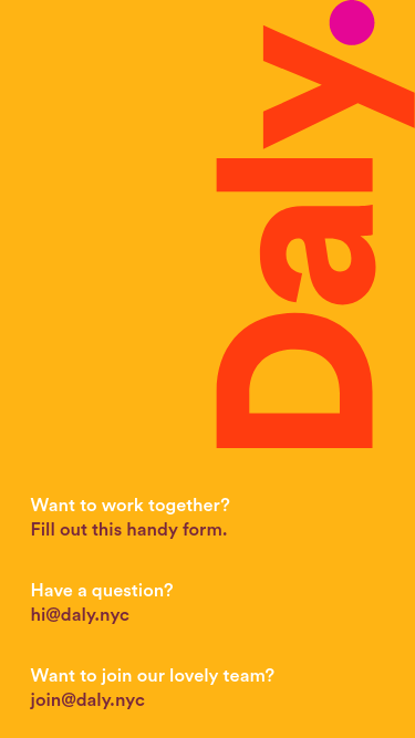 Daly mobile website