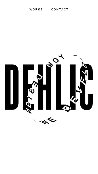 Dehlic mobile website