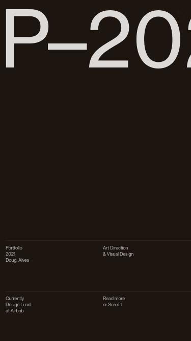 Doug–Alves mobile website
