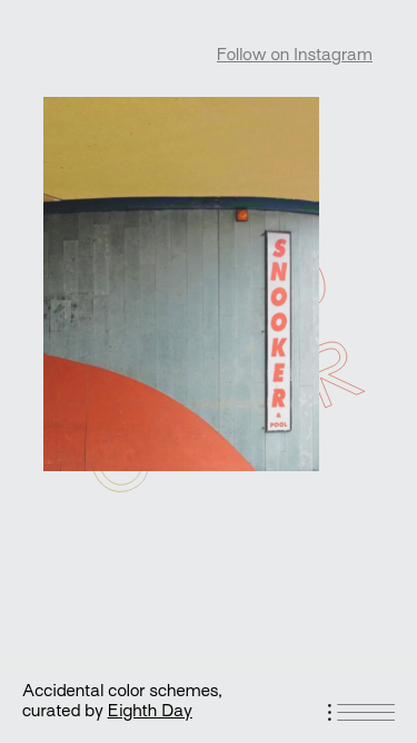 Found color mobile website