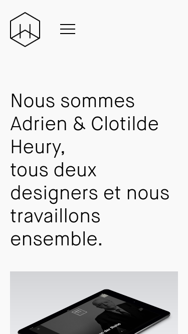 Heury and Heury mobile website