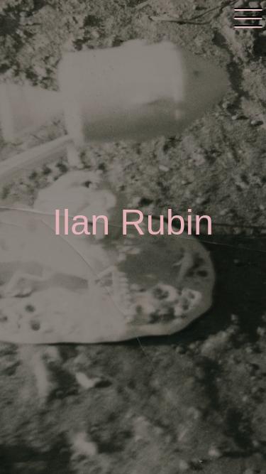Ilan Rubin mobile website