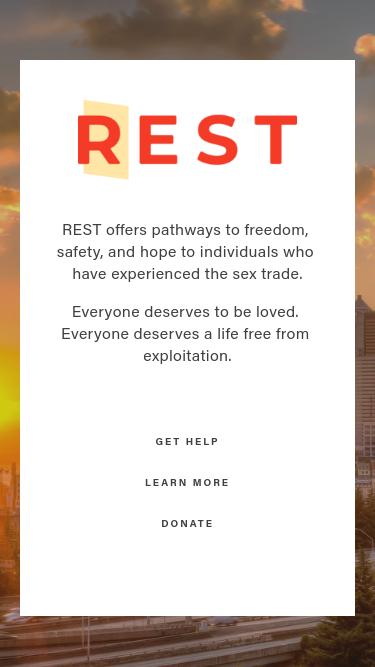 REST mobile website