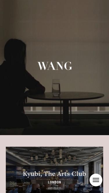 Joyce Wang mobile website