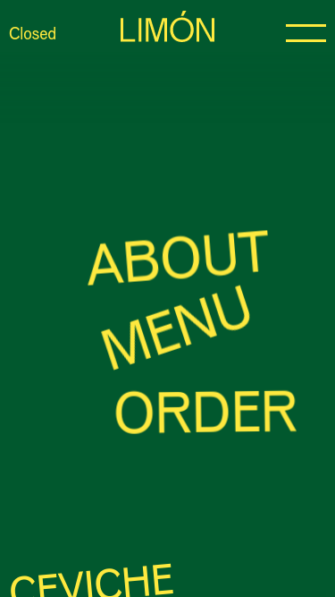 Limon mobile website