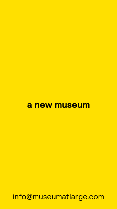 Museum At Large mobile website