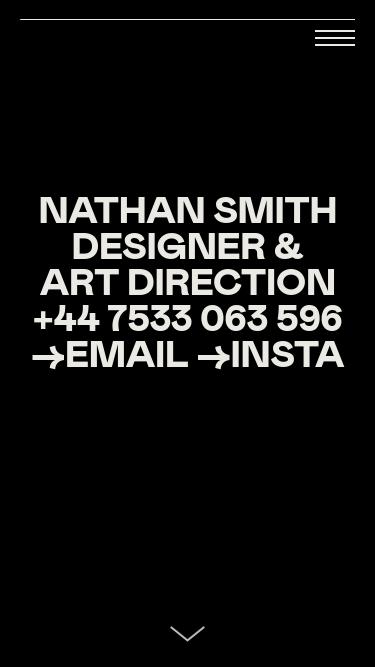 Nathan Smith mobile website