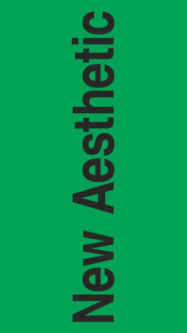 New Aesthetic mobile website