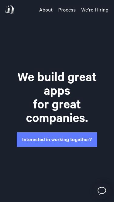 Nicer Studio mobile website