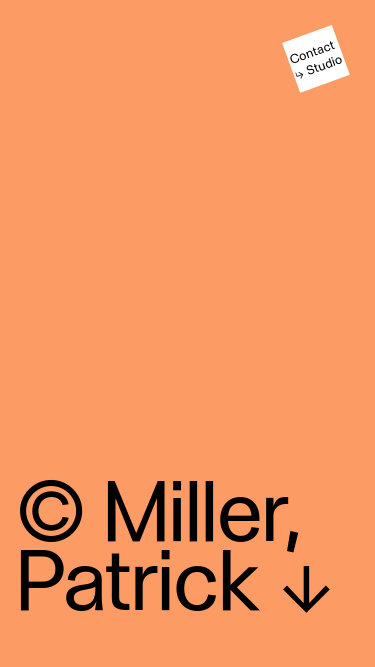 Patrick Miller mobile website