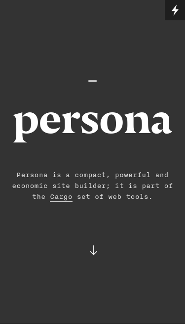 persona  Visit minimal.gallery, follow on Twitter or receive the weekly/monthly round up mobile website
