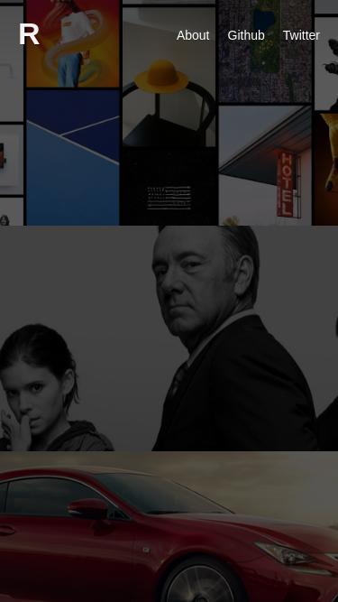 Ramon Fritsch mobile website