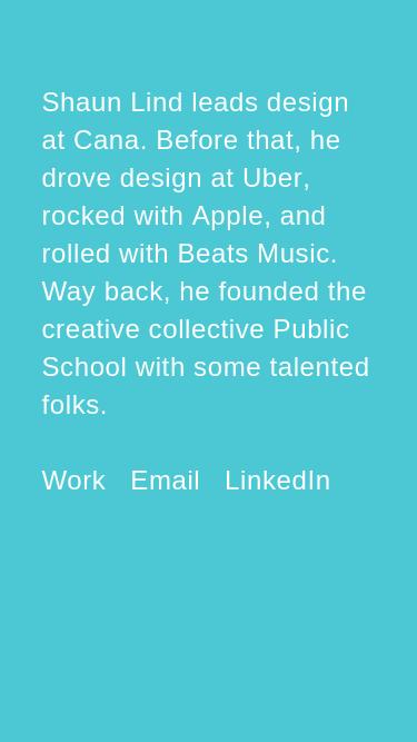 Shaun Lind mobile website