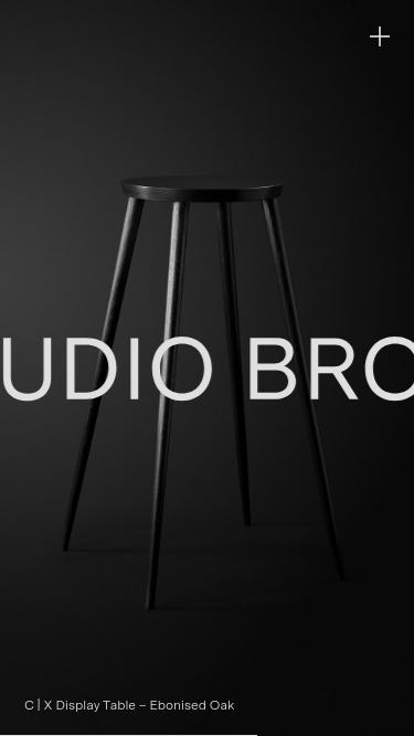 Studio Brophy mobile website