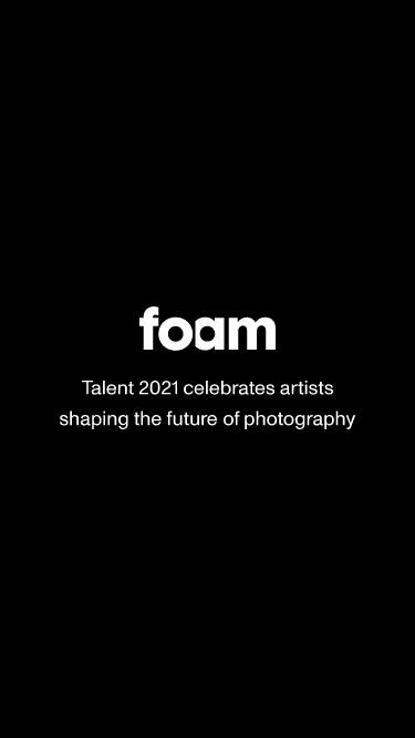 Foam Talent 2020 mobile website