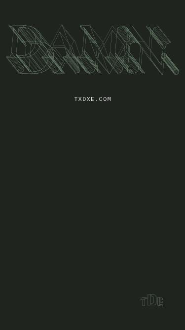 DAMN mobile website