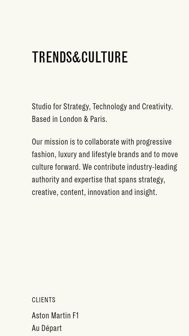 Trends&Culture mobile website
