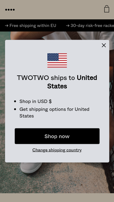 TWOTWO mobile website