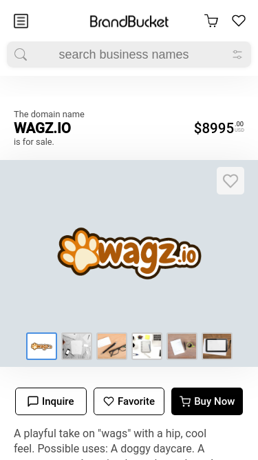 Mike Wagz mobile website