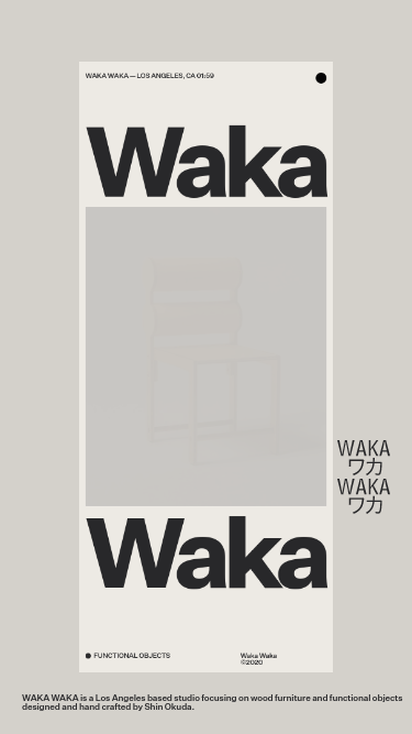 WAKA-WAKA mobile website