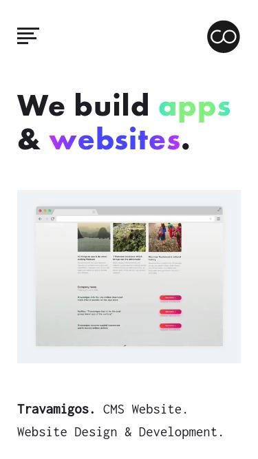 Cocoon mobile website