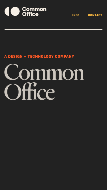 Common Office mobile website