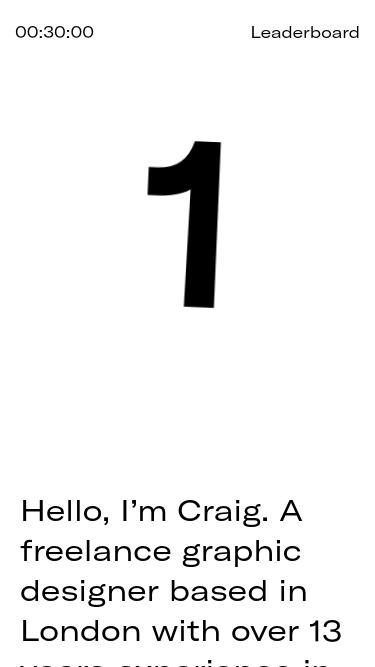 Craig Jackson mobile website