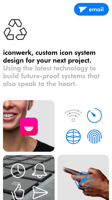 iconwerk mobile website