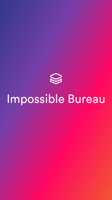 Impossible Bureau  Visit minimal.gallery, follow on Twitter or receive the weekly/monthly round up mobile website