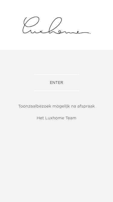 LuxHome mobile website