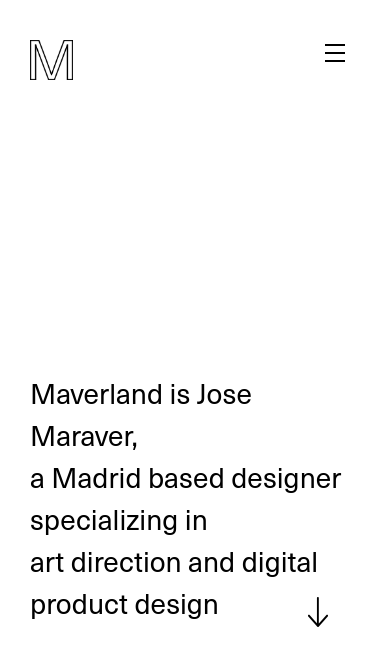 Maverland mobile website
