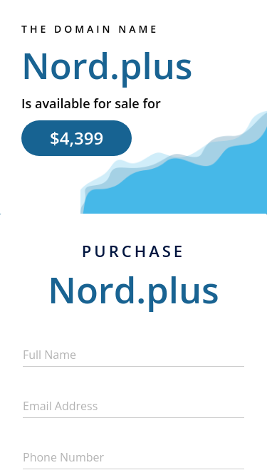 Nord + mobile website
