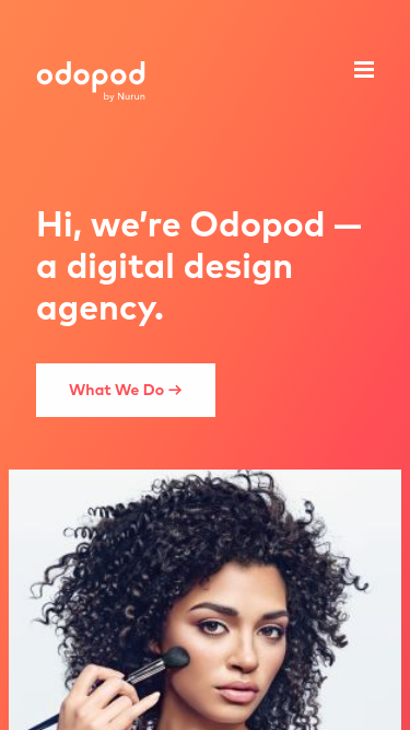 odopod  Visit minimal.gallery, follow on Twitter or receive the weekly/monthly round up mobile website