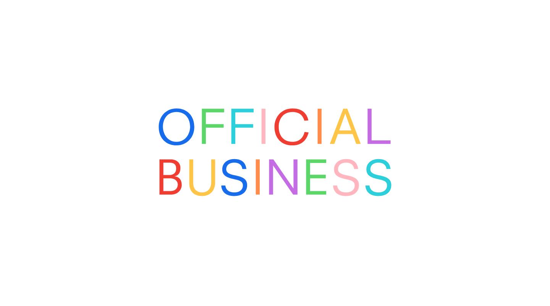Official Business website
