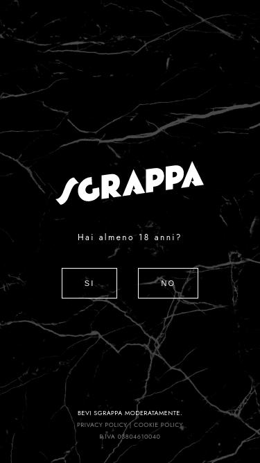 Sgrappa mobile website