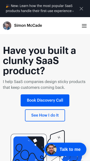 S.McCade mobile website