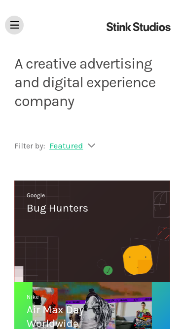 Stinkdigital mobile website