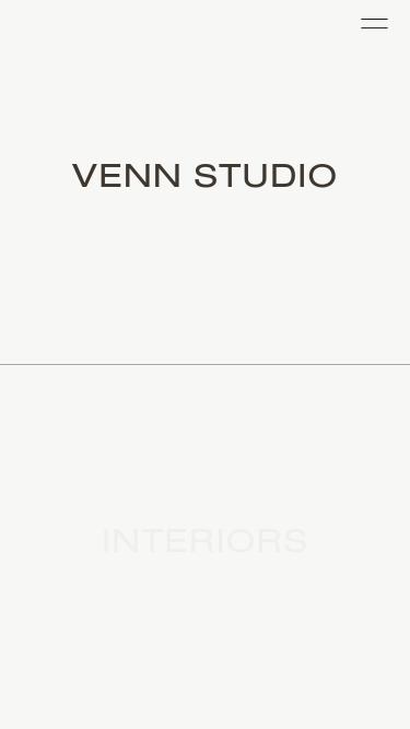 Venn Studio Los Angeles mobile website